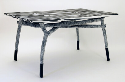 Handmade High-tech Table