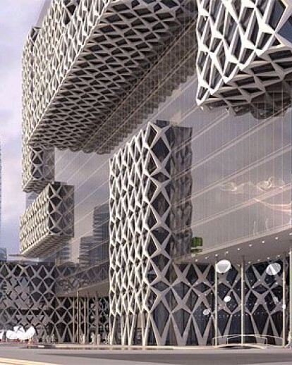 Akropolis building and urban proposal