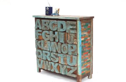 Alphabet Chest
