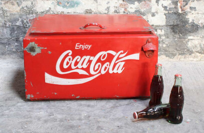 Coke Cool Box