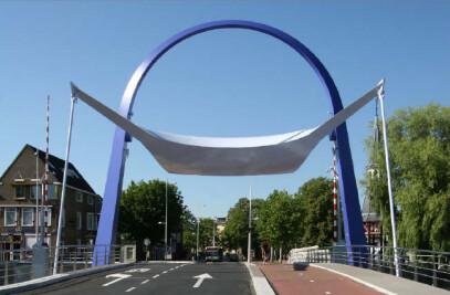 bascule bridge PoortBrug Leeuwarden
