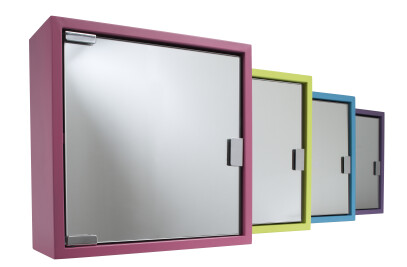 Coloured Steel Cabinets