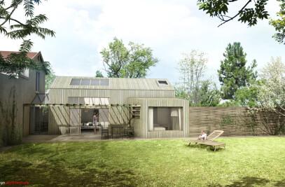 Extension en Bois BBC