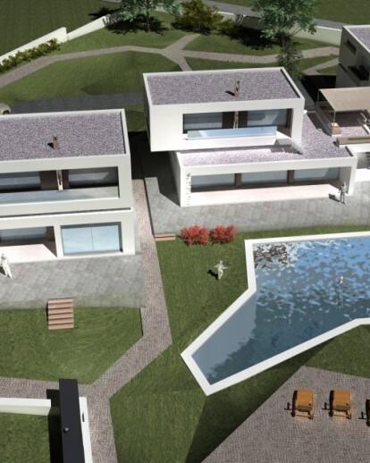Three Houses In Epanomi