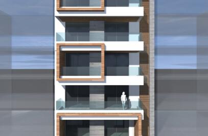 Five Storey Apartment Building In Touba