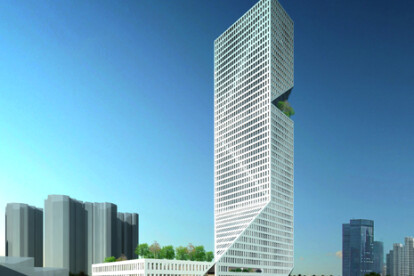 Interexchange tower