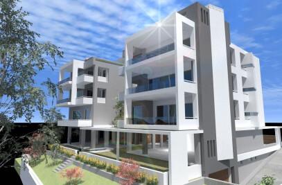 Apartment Building In Alimos
