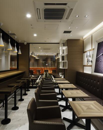 Tully's Coffee Shop Remm Kagoshima