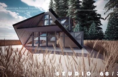 2 floor house of Tent type