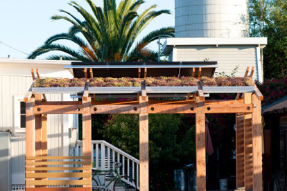 Green Roof Solar Structure