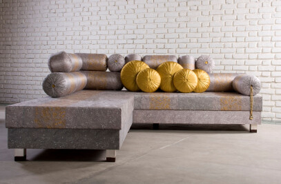 Masand Sofa - L-shaped