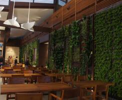 Green wall @ interior