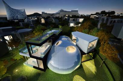Jeju Cocoon House