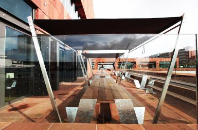 Storm Café terrace