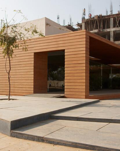 'Parisar' Site office