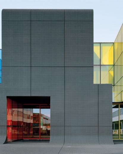 Bâtiment administratif du centre bus RATP – Thiais