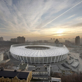 Olympic Stadium, Kiev, Ukraine