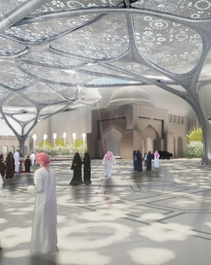 UAE GEOMETRICAL FOREST