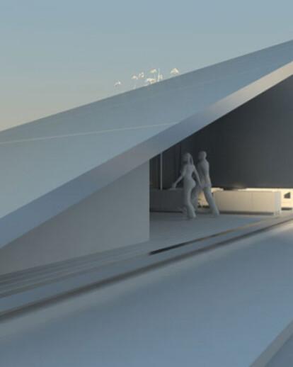 Pavillon Carlswerk - Maximum surface area on a minimal budget
