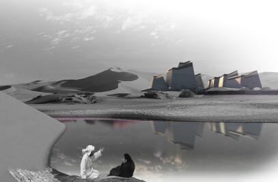 hotel-baths at Abu-dhabi (Degree project)