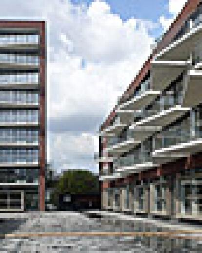 Stadsplein, Hoge Ban en Lage Ban, Hoogvliet in de afbouwfase