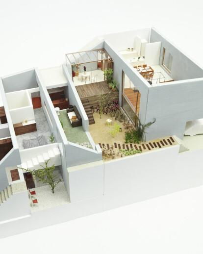 Garden complex