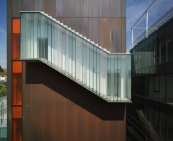Exterior ladder