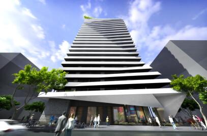 Moreland Street Footscray - Residential Tower