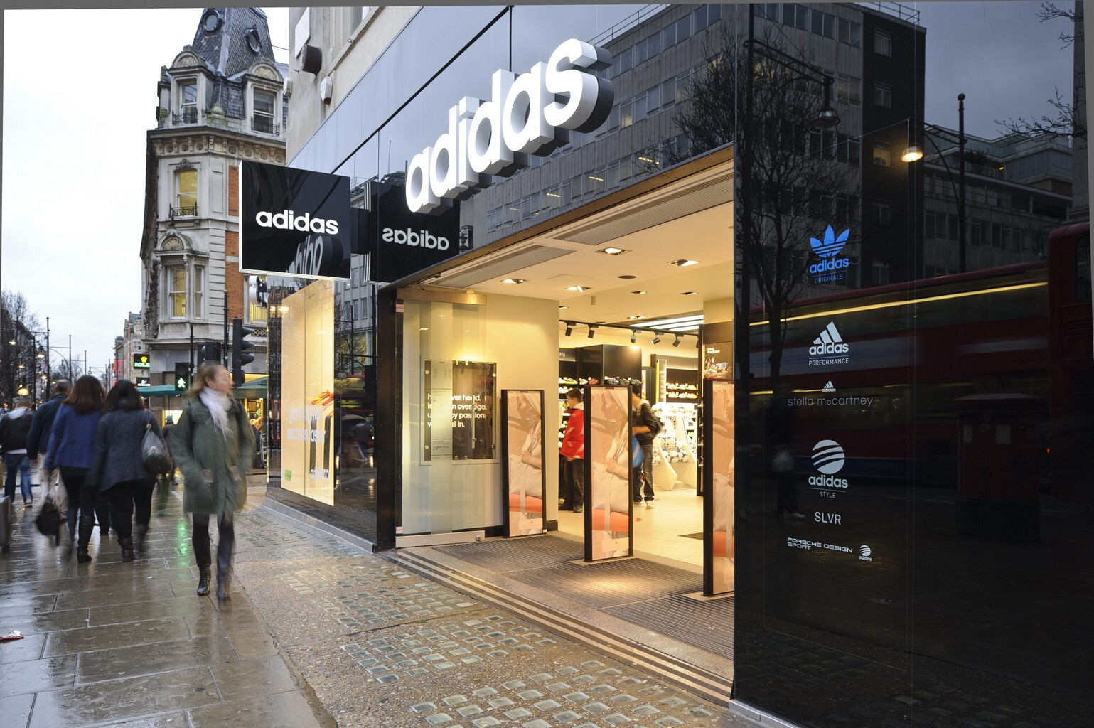 2adidas covent garden opening times