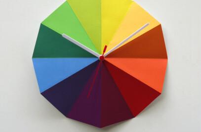 Radial Clock