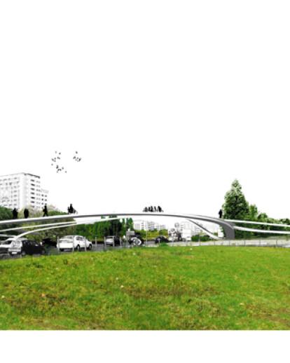 Experimenta Design`09 Lisboa - Cycling and Pedestrian Bridge Competition