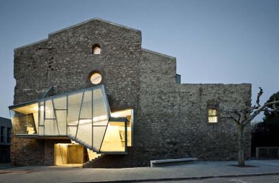 Auditorium in the church of Sant Francesc convent