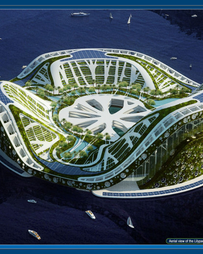LILYPAD, A FLOATING ECOPOLIS FOR CLIMATICAL REFUGEES