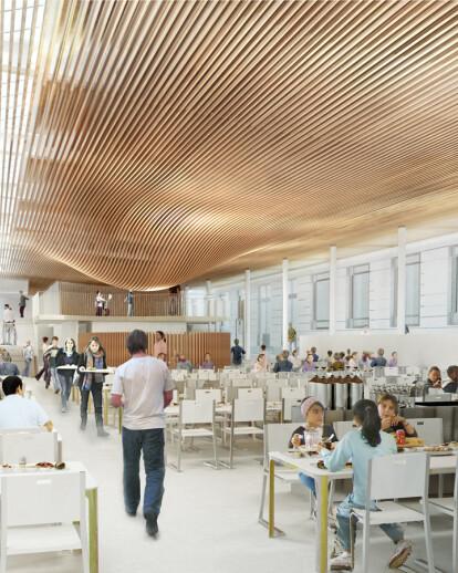 Restructuring of La Bruyere high-school in Versailles