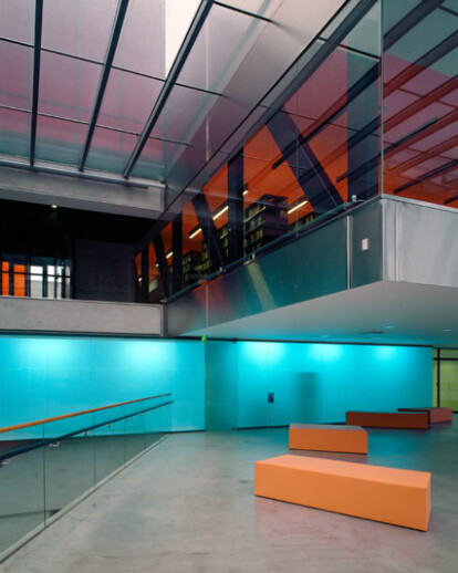 Interiors of the Museum of World Culture