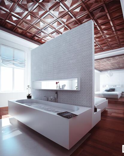 Clasical interior design in China mainland