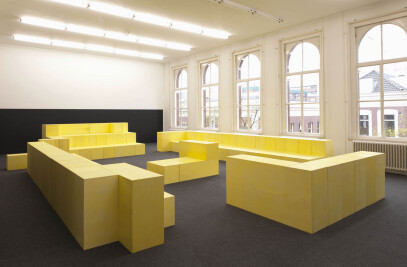 Spatial Design by Studio Miessen at Witte de With Center for Contemporary Art