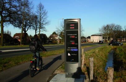 Falco Cycle Counters Recently installed in Apeldoorn