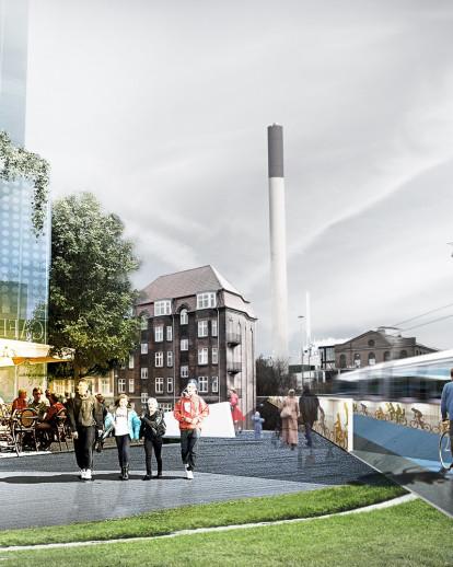 Masterplan DSB-areas and Busterminal in Aarhus