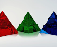 Decorative figure PYRAMID by Max Ptk