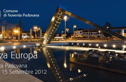 Urbo furnish the Piazza Europa, Noventa Padovana