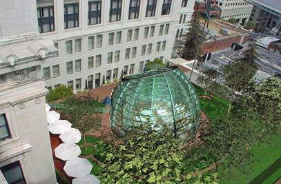 Glass Pavilion, Nob Hill Hotel