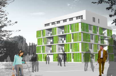 Micro-algae prove ideal for making green facades