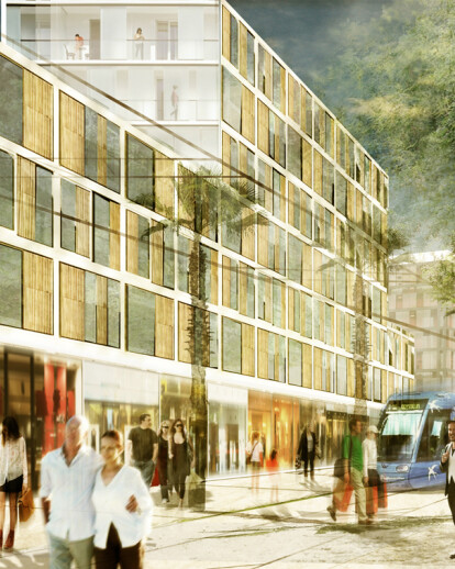 KCAP appointed for Quartier Gare TGV Montepellier [FR]