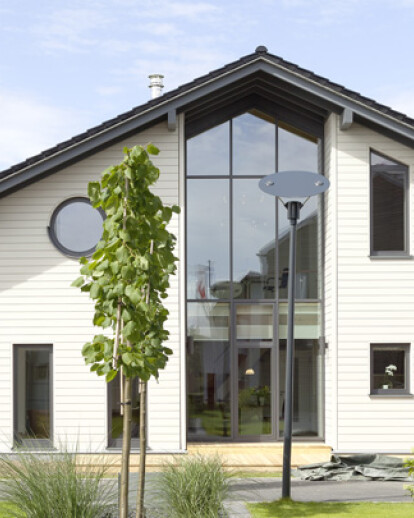 Stommel Haus Show Home Heated with Solar Ice