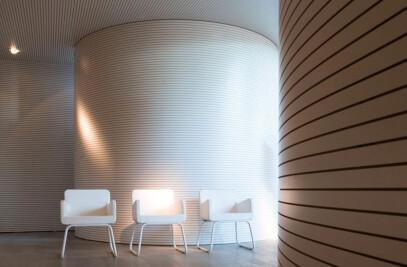 4 Akustik sound absorbing panelling