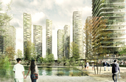 Masterplan in Huizhou