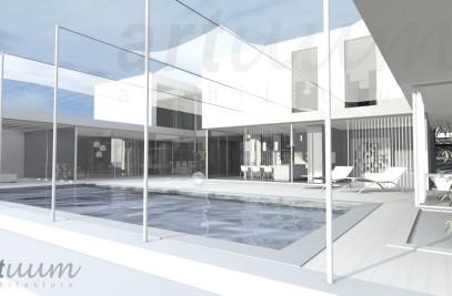 luxury villa - visualisation