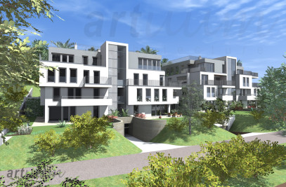 residential building - visualisation & submission planning