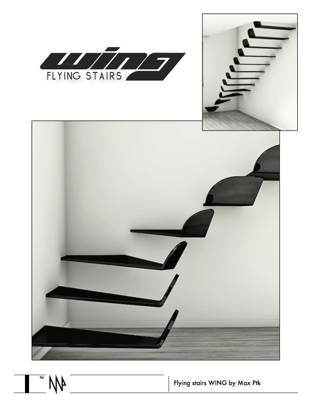 Flying stairs WING by Max Ptk